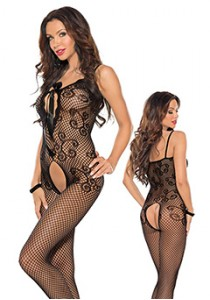 BODYSTOCKING L/XL BLACK