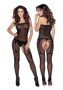 BODYSTOCKINGS L/XL BLACK