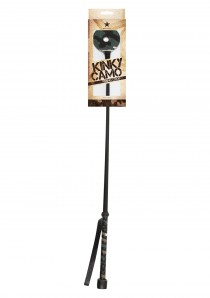 KINKY CAMO RIDING CROP