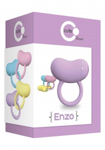 ENZO COUPLES RING PURPLE