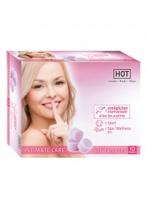 HOT INTIMATE CARE SOFT TAMPONS 10ST