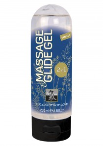 SHIATSU MASSAGE & GLIDE GEL 2IN1