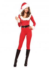 SANTA BABY CATSUIT  RED L