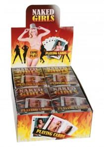 PLAYING CARDS HOT GIRLS DISP 12 PCS