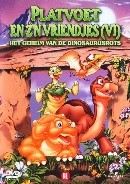Platvoet 6-geheim van de dinosaurusrots (DVD)