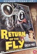 Return of the fly (1959) (DVD)