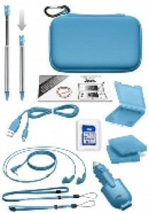 Natural pack with 9 elements blue N3DS (Bigben) (NINDS)