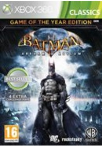 Batman arkham asylum (Game of the year) (XBOX360)