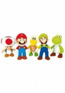 Super Mario Bros pluche 20 cm assortiment (12 stuks)