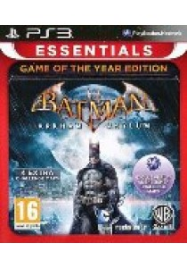 Batman arkham asylum (Game of the year) (PS3)