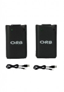 Dual charge & play battery pack black Xbox360 (ORB) (XBOX360)