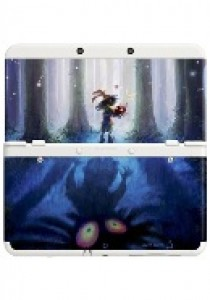 Coverplate Zelda Majora's mask New N3DS (NINDS)