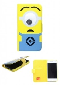 Minions Googley Eye diary case iPhone 5 (TELEFONIE)