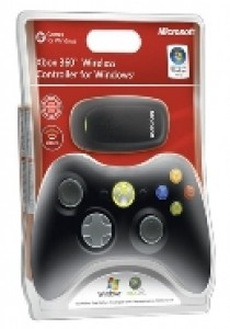 Black wireless common controller Xbox 360/PC (XBOX360)