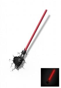 Darth Vader lightsaber 3D light FX