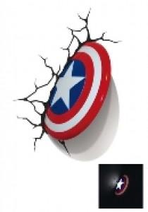 Captain America shield 3D light FX