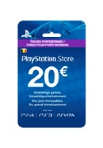 PlayStation Network BELGIË voucher card hang 20 (PS3)