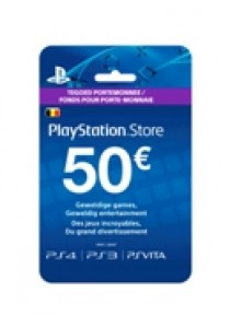 PlayStation Network BELGIË voucher card hang 50 (PS3)