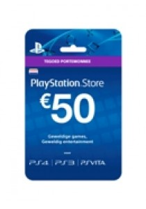 PlayStation Network NEDERLAND voucher card hang 50 (PS3)
