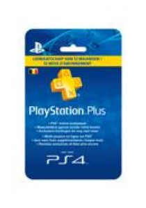 PlayStation plus card hang (1 jaar) BELGIË PS4/PS3 (PS3)