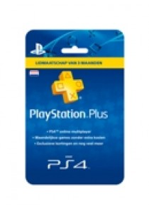 PlayStation plus card hang (3 maanden) NEDERLAND PS4/PS3 (PS3)