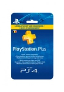 PlayStation plus card hang (3 maanden) BELGIË PS4/PS3 (PS3)