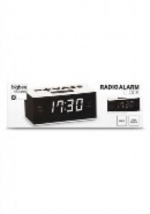 Radio clock white/black (AUDIO)