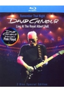David Gilmour - Remember that night (Blu-Ray)