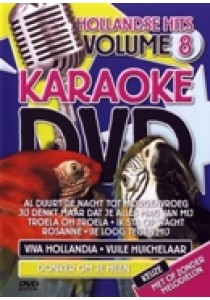 Karaoke dvd - Hollandse hits 8 (DVD)