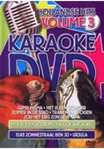 Karaoke dvd - Hollandse hits 3 (DVD)