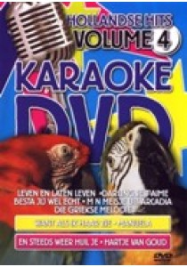 Karaoke dvd - Hollandse hits 4 (DVD)