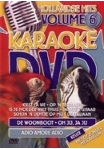 Karaoke dvd - Hollandse hits 6 (DVD)