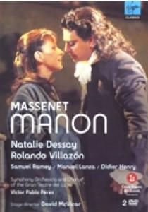 Natalie Dessay - Massenet Manon 2Dvd (DVD)