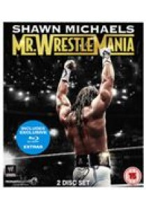 WWE - Shawn Michaels - Mr Wrestlemania (Blu-Ray)
