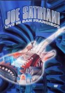 Joe Satriani - live in San Francisco (DVD)