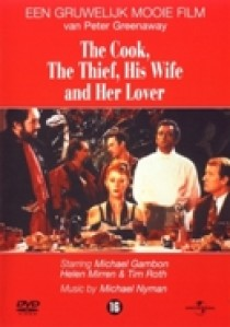 Cook, the thief, his wife and her lover (DVD)