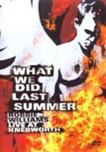 Robbie Williams - What we did last summer (DVD)