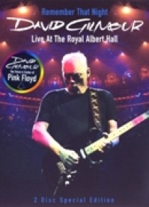 David Gilmour - Remember that night (DVD)