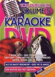 Karaoke dvd - Hollandse hits 5 (DVD)