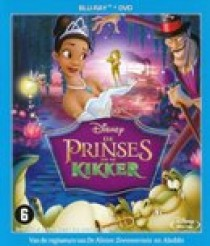 Prinses en de kikker (Princess & the frog) (Blu-Ray)