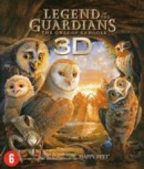 Legend of the guardians - The owls of Ga'Hoole (3D) (Blu-Ray)