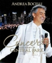 Andrea Bocelli - Concerto: One Night In Central Park (Blu-Ray)