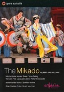Alexander,Breen,Fiebig - The Mikado, Melbourne 2011 (DVD)