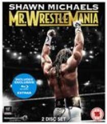 WWE - Shawn Michaels - Mr Wrestlemania (Blu-Ray)