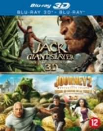 Jack the giant slayer (3D)/Journey 2 (Blu-Ray)